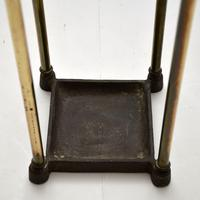 Antique Victorian Brass Umbrella Stand (5 of 7)