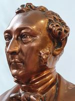 Superb Rare Large 19th Century Photo Sculpture Copper Bust by Willeme (11 of 11)