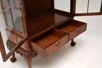 Burr Walnut Display Cabinet c.1930 (9 of 11)