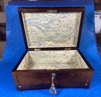 William IV Rosewood Box with Mother of Pearl Inlay (13 of 13)