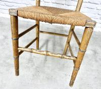 Regency Faux Bamboo Side Chair (5 of 6)