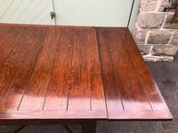 Antique Oak Extending Dining Table (10 of 10)