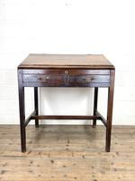 Antique Mahogany Clerk's Desk or Bureau (2 of 10)