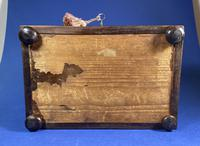 Regency Rosewood Table Box with Brass Foliate Inlay (6 of 12)