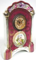 Fantastic Antique French / German Sevres Mantel Clock (4 of 5)