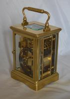 French Striking Carriage Clock c.1895 (5 of 6)