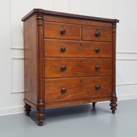 Fine Quality Large Mahogany Chest of Drawers c1840 (7 of 7)