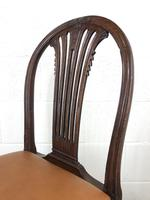 Georgian Chair with Drop-in Leather Seat (8 of 13)