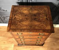 Burr Walnut Chest of Drawers c1890 (13 of 15)