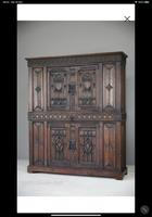 Gothic Carved Oak Cupboard (2 of 6)