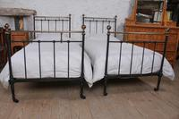 Attractive Pair of French Classic Victorian Beds (8 of 10)
