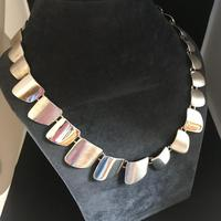 Danish Sterling Silver Necklace. 1960s. By G. Ellegaard Jorgensen (3 of 4)