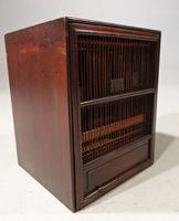 Most Unusual 1920's Hardwood & Lacquered Bird Cage (6 of 9)