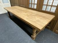 Rare Huge Oak French Farmhouse Dining Table (8 of 18)