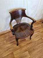 Oak Desk Chair (7 of 11)