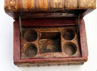 Scarce Novelty Drinking Set Contained in Secret Stack of Books c.1890 (9 of 15)
