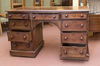 Knee Hole Desk with 9 Drawers (2 of 2)