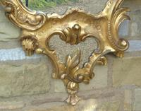 Good Antique Giltwood Rococo Mirror (7 of 7)