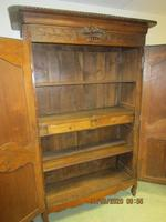 French 19th Century Oak Armoire (4 of 8)