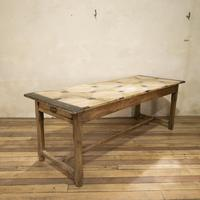 Early 20th Century French Painted Refectory Table (4 of 14)