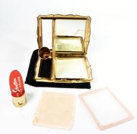 Vintage Stratton Lipstick Holder & Compact Mirror 1950s (6 of 9)