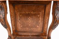Victorian Davenport Desk Walnut Inlay c.1860 (10 of 14)