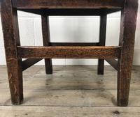 Pair of Antique Oak Bar Back Farmhouse Chairs (2 of 14)