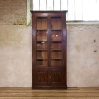 A Tall Majestic 19th Century French Faux Rosewood Bibliothèque - Bookcase (2 of 3)