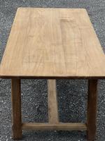 Large French Bleached Farmhouse Dining Table (25 of 26)