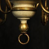 Florentine 6 Light Polychrome Chandelier (8 of 10)