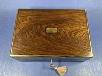 Victorian Rosewood Gentlemen's Vaniety Box (10 of 13)