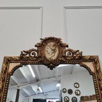 Large Antique French Mirror c.1860 (5 of 9)