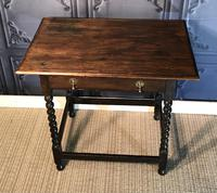 Oak Hall Table (3 of 9)