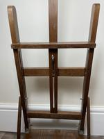 Mid 20th Century Artists Studio Tabletop Easel with Carry Handle & Drawer (16 of 28)