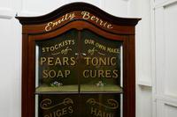 Edwardian Mahogany Sign Painted Perfumery Cupboard (7 of 7)