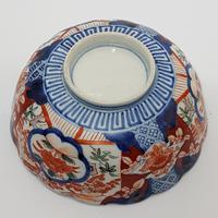 Late 19th Century Japanese Imari Small Scalloped Bowl (5 of 6)