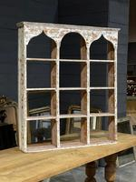 French Scraped Paint Wall Shelves or Display Box (9 of 17)