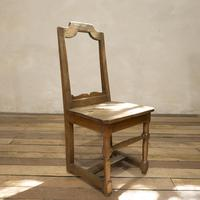 Set of Four French 18th Century Backstool Chairs (8 of 13)