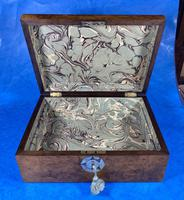 Victorian Walnut Jewellery Box with Inlay (9 of 15)