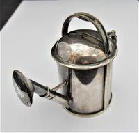 Victorian, Epns Novelty Watering Can Scent/perfume Bottle, C1900 (4 of 9)