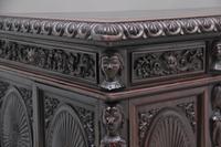 19th Century Chinese Hongmu Pedestal Desk (19 of 19)