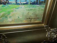 Rural Scene Oil on Board by W.B.Lamond (4 of 6)