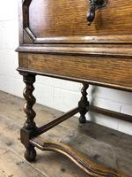 Early 20th Century Antique Oak Bureau Bookcase (12 of 17)