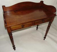 Georgian Mahogany Galleried Side Table (7 of 8)