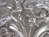 Edwardian Silver Dressing Table Tray by W. J. MYATT & CO, Chester 1905 (2 of 4)