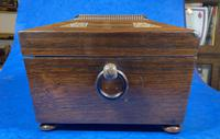 William IV Rosewood Jewellery Box with Inlays (3 of 12)