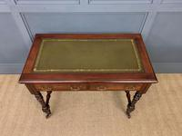 Good Late Victorian Mahogany Writing Table (10 of 14)