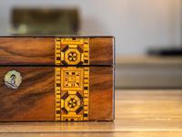 Victorian Tunbridge Ware Table Box (6 of 9)
