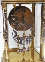 Awesome Antique French Champlevé Ormolu Bronze 8 Day Striking Mantel Clock c.1880 (12 of 13)
