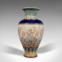 Antique Decorative Vase, English, Ceramic, Display, Art Nouveau, Edwardian, 1910 (4 of 12)
